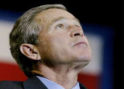 Analysis: Bush's Sweeping Push For Democracy Is Sinking