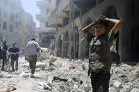Syrian City Duma Demolished with Iranian, Russian Participation Amid Western Silence