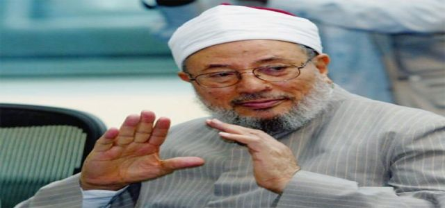Qaradawi calls on Muslims all over the world to unite against deplorable IOF attacks on al-Aqsa mosque.