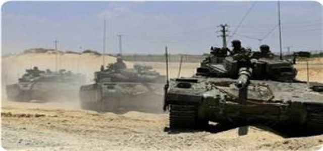 IOF troops advance into southern Gaza, round up more West Bankers