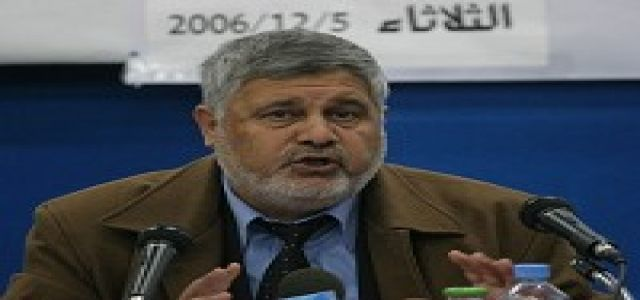Open Letter to the Quartet by Dr. Ahmad Yousef, political adviser to Hamas leader Ismail Haniyeh