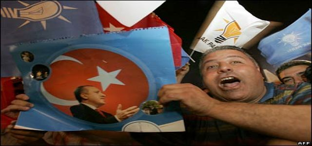 Turkey makes the right choice, AKP