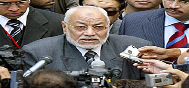 MB Chairman Calls for Ending Gaza Siege