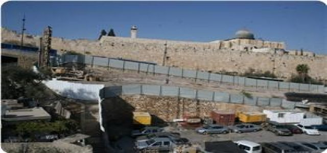 Aqsa: Israeli excavations caused collapse in the Aqsa Mosque's yards