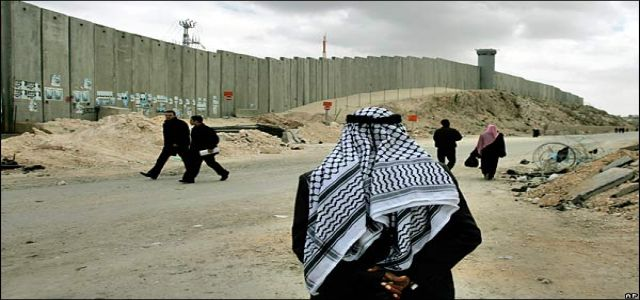 Israel's apartheid wall dislodges 28,000 Palestinians in three years