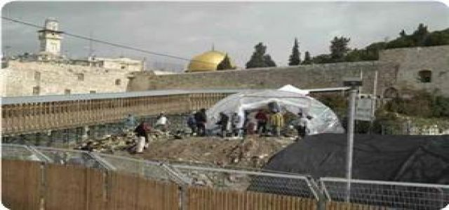 Aqsa Foundation: Demolishing Maghareba road targets seizing parts of Aqsa