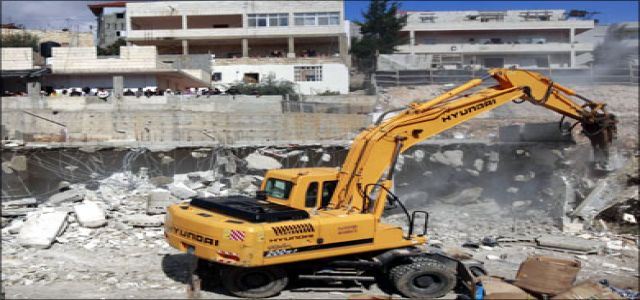 Israeli plans to evacuate and demolish Palestinian buildings in Silwan and Busta