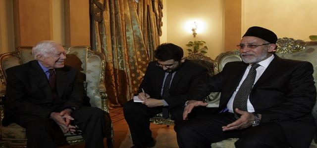 Former U.S. President Jimmy Carter After Meeting With Badie: I Recognize Egyptian People's Love for the Muslim Brotherhood