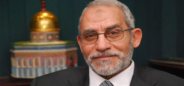 MB Chairman calls for immediate release of Al-Shater and Companions