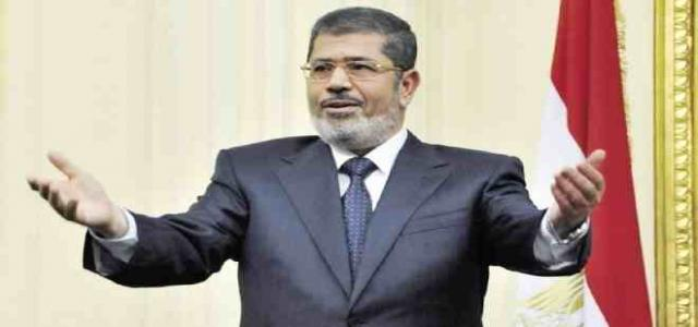 President Morsi Reiterates Solidarity with January 25 Revolution, Rejection of Sham Trial