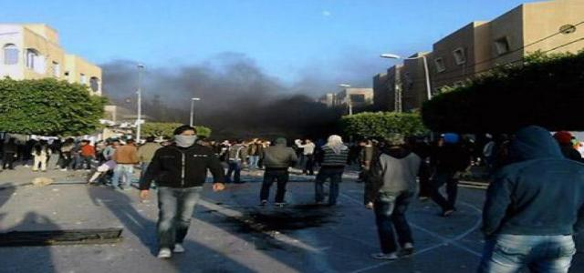 Tunisia : Arabic Pinochet Government Respond to Peaceful Protests by Live Ammunition Orchestrating AlJazeera and Seizing AlMowqef Newspaper