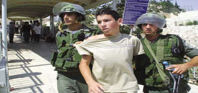 Palestinian Child Prisoners: The Systematic and Institutionalised Ill-Treatment and Torture of Palestinian Children by Israeli Authorities