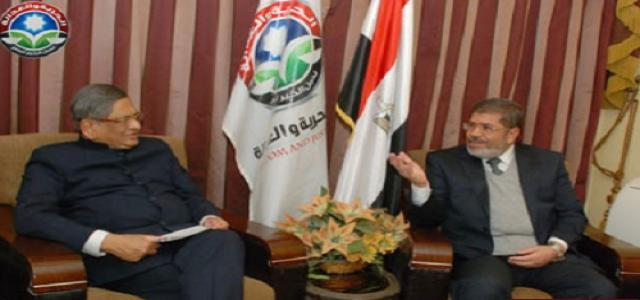 Dr. Morsi receives Indian Foreign Minister, Discuss Investments and Economic Relations