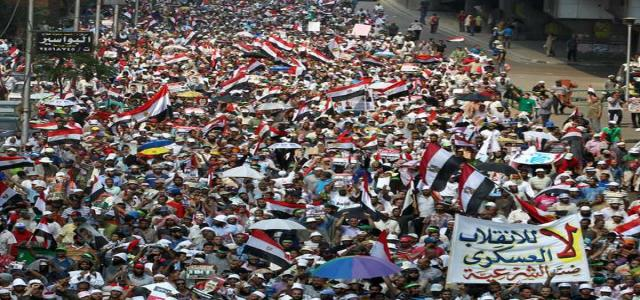 Egypt's Anti-Coup Alliance Urges Patriotic Citizens to Persist in 'Egypt Speaks Revolution' Protests