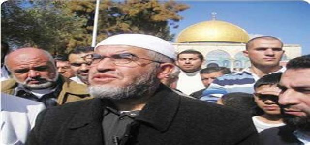 Sheikh Salah warns of Israeli plan to build Talmudic parks around Aqsa Mosque