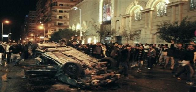 MB condemns barbaric blast outside Alexandria church describing it as heineous and criminal