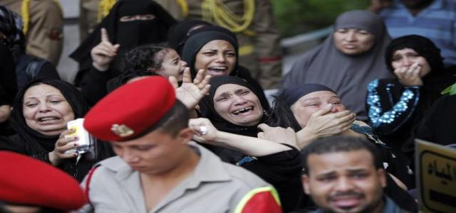 Egyptian Revolutionary Council Statement on Sinai Bloody Events