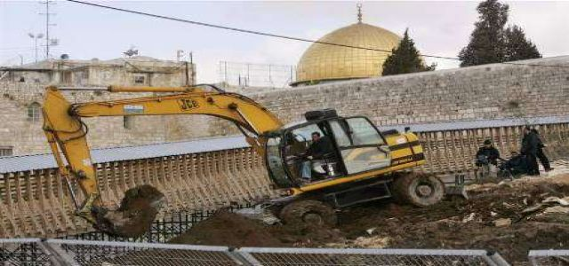 Al-Aqsa foundation: IOA is fully responsible to damages in the holy city of Jerusalem.