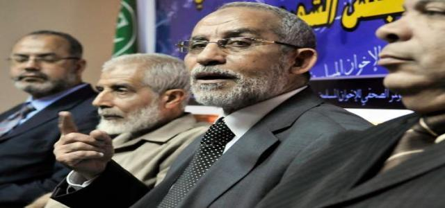 Katatni: MB will not be intimidated by arrests and will continue to fight corruption