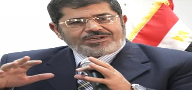 Seventeen Pledges by Dr. Mohamed Morsi to Egyptians before Runoff Elections