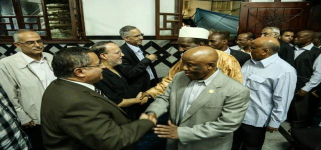 African Union Delegation Visits Rabaa Sit-in Following Visit to President Morsy